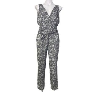 NWOT Anthropologie Cloth & Stone Gray Jumpsuit